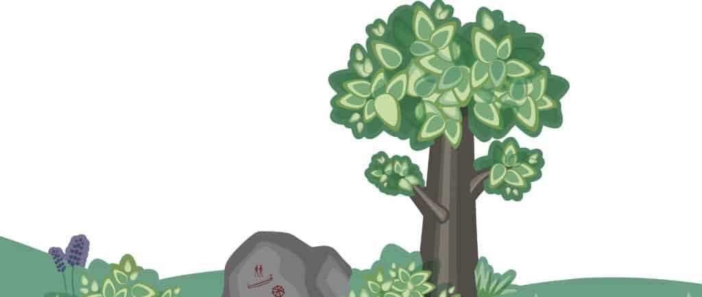 Drakdalen träd