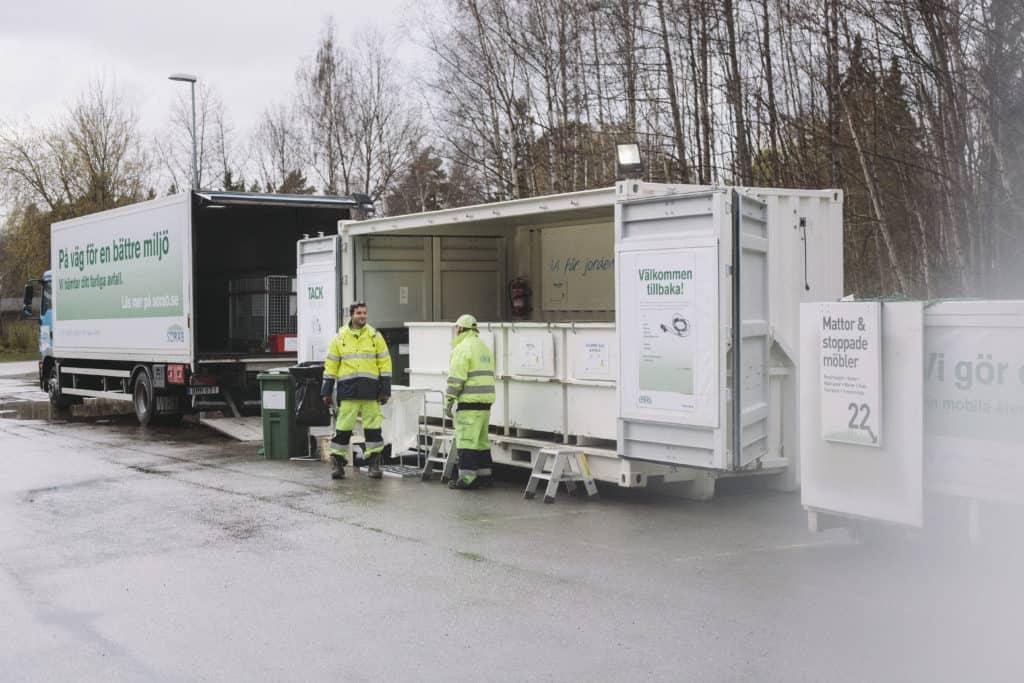 Återvinning Väsby Centrum